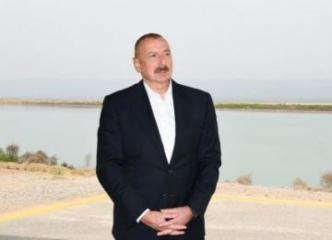 Ильхам Алиев: Отказ от предоставления данных карт является просто очередным военным преступлением Армении - [color=red]ВИДЕО[/color]