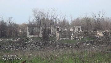 Ağdamın Baş Qərvənd kəndi - [color=red]VİDEO[/color]
