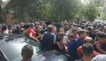 Пашиняна в Сюникской области встретили протестами - [color=red]ВИДЕО[/color]