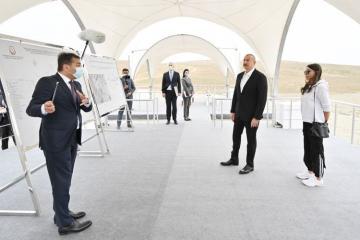 Abşeron rayonunda Palçıq Vulkanları Turizm Kompleksinin təməli qoyulub