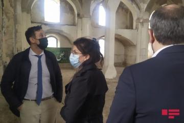 Французские юристы побывали в агдамской мечети Джума