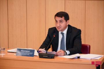 Хикмет Гаджиев: Мы хотели бы надеяться, что администрация США не допустит исторической ошибки