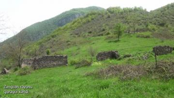 Zəngilan rayonunun Qaragöl kəndi - [color=red]VİDEO[/color]