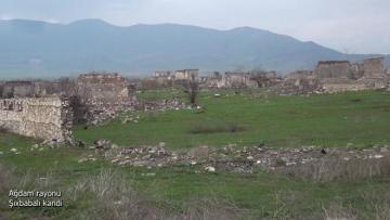 Ağdam rayonunun Şıxbabalı kəndi