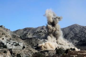 Əfqanıstanda aviazərbələr və minaatan zərbələri nəticəsində 12 nəfər ölüb