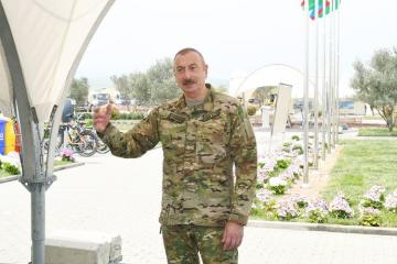 Президент Ильхам Алиев: Для работы с нами на освобожденных территориях мы пригласим компании из дружественных стран