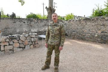 Ильхам Алиев: Армянское государство учинило против нас также культурный геноцид