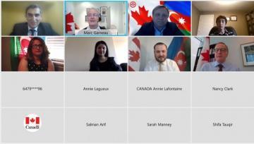 Члены Сети азербайджанцев Канады встретились с главой МИД Канады