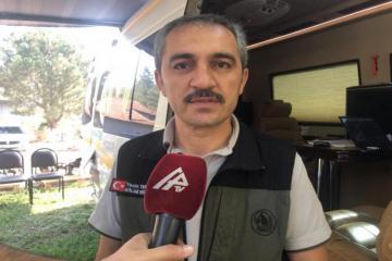 В Турции выразили особую признательность азербайджанским пожарным - [color=red]ВИДЕО[/color]