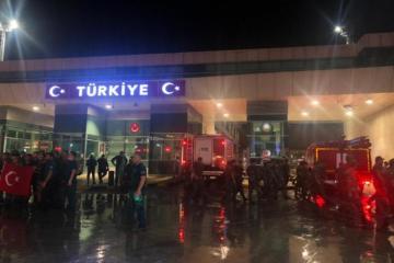 Очередная группа азербайджанских пожарных прибыла в Турцию для борьбы с лесными пожарами-[color=red]ФОТО-ВИДЕО[/color]