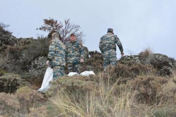 В Физулинском районе Азербайджана обнаружены останки еще 6 армянских военнослужащих