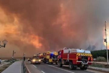 Азербайджанские пожарные продолжают борьбу с пожарами в Турции - [color=red]ВИДЕО[/color]