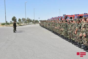 Next group of fire and rescue forces of Azerbaijan MES left for Turkey