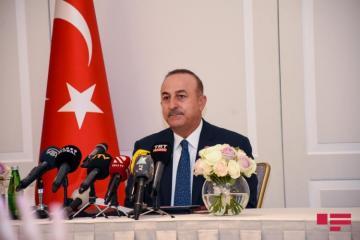 Глава МИД Турции поблагодарил Азербайджан