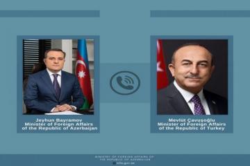 Türkiyənin xarici işlər naziri Azərbaycana təşəkkür edib