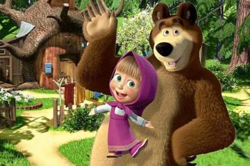 Очередной выпуск мультфильма «Маша и медведь» подготовлен по сюжету азербайджанской сказки «Джиртдан»-[color=red]ВИДЕО[/color]