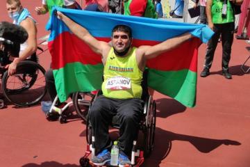 Tokio-2020: Azərbaycan paralimpiyaçısı qızıl medal qazanıb və dünya rekordu vurub