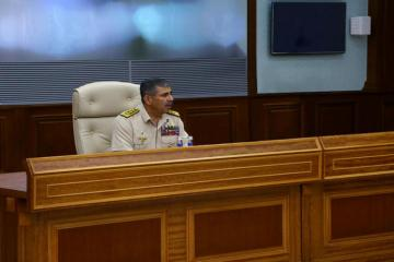 Azerbaijani Defense Minister held an official meeting