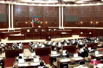 First plenary meeting of the spring session of Azerbaijani Parliament kicks off