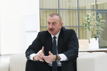 Президент Азербайджана: Армянский фашизм – это самая жестокая, самая опасная, ненавистная, уродливая идеология