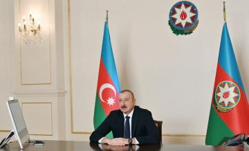 President Ilham Aliyev receives Chairman of Board of Agency for Mine Action