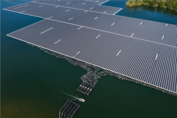 Floating solar station to be constructed in Baku