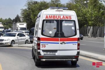 В ДТП в Гяндже пострадали 3 человека
