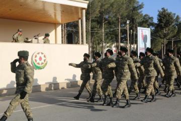Azərbaycan Ordusunda andiçmə mərasimləri keçirilib - [color=red]FOTO[/color]