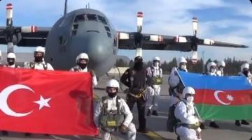 Продолжаются совместные военные учения ВС Турции и Азербайджана «Зима-2021» - [color=red]ВИДЕО[/color]