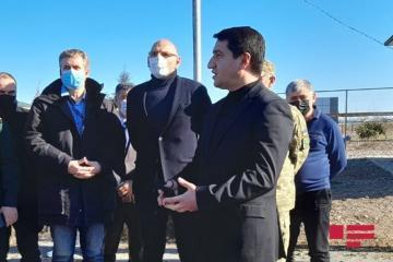 Хикмет Гаджиев: Надеемся, что Миндживан снова станет региональным транспортным хабом