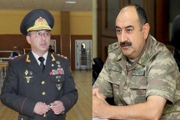 Generallar Rövşən Əkbərov və Xəqani Cəbrayılov ehtiyata buraxılıb