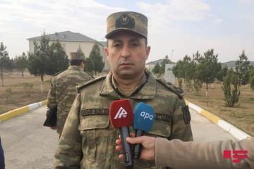 Азербайджанская Армия проходит боевую подготовку на освобожденных от оккупации территориях