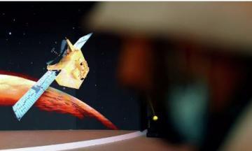 BƏƏ istehsalı olan ilk ərəb kosmik gəmisi Marsın orbitinə daxil olub