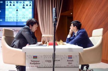 Теймур Раджабов стартовал с ничьи в плей-офф Opera Euro Rapid