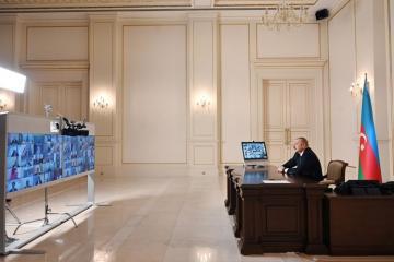 Ильхам Алиев: Азербайджан участвовал во всех четырех сегментах реализации Южного газового коридора