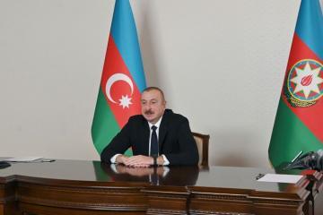 Президент Ильхам Алиев выразил признательность всем партнерам, принимавшим участие в реализации ЮГК