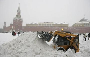 Высота снежного покрова в Москве достигла 56 см