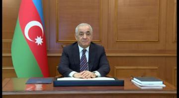 Baş nazir Əli Əsədov Türkiyənin Vitse-prezidenti Fuat Oktayabaşsağlığı verib