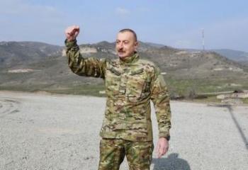 """Azərbaycan Prezidenti: """"Heç vaxt imkan verə bilmərik ki, erməni faşizmi bir daha başını qaldırsın"""""""