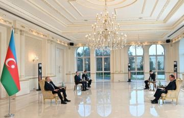 President Ilham Aliyev received credentials of incoming Belarus ambassador
