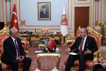 Премьер-министр Али Асадов встретился с председателем ВНСТ Мустафой Шентопом - [color=red]ФОТО[/color]