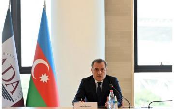 Джейхун Байрамов встретился с руководителями диппредставительств стран Европейского Союза