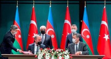 Азербайджан и Турция подписали протокол о сотрудничестве в сфере профессионального образования