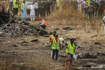 Nigeriyada hərbi təyyarə qəzaya uğrayıb, 7 nəfər ölüb