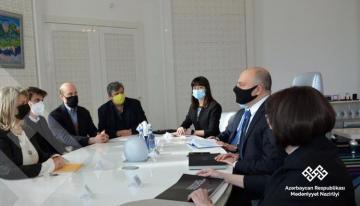 Состоялась встреча с итальянскими экспертами в связи с подготовкой мемориального комплекса Отечественной войны и Музея Победы