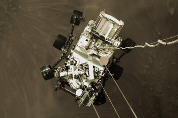 """""""Perseverance"""" aparatının Marsa enməsinin görüntüləri yayılıb - [color=red]VİDEO[/color]"""