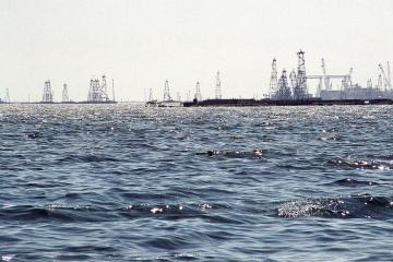 В связи с погодными условиями в акватории Каспия усилены меры безопасности