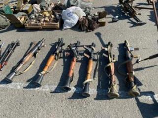 В Джабраиле обнаружены боеприпасы, оставленные армянами при бегстве