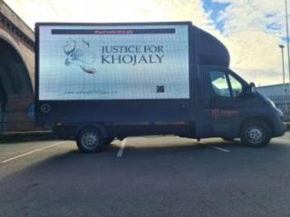 В Лондоне организована информационная акция о Ходжалинском геноциде - [color=red]ФОТО[/color]