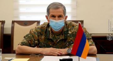 Ermənistan ordusunun Baş Qərargah rəisi  işdən çıxarılıb